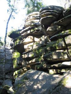 The rock by village Hradiste (3 km away)