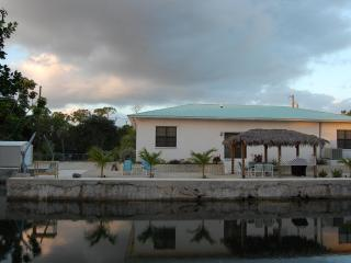 View of 'Reel Paradise' from across the canal