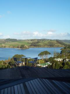 Overlooking Mangonui Harbour inlet