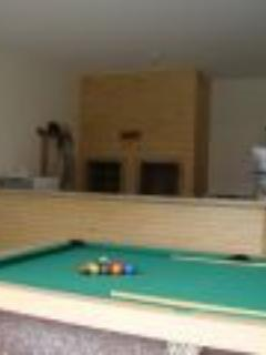 Barbecue pool table