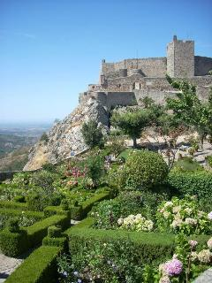 The stunning medieval hill top village of Marvão with its castle, gardens and panoramic views