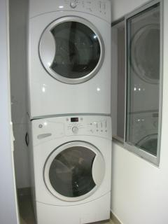 Brand new washer and dryer in apartment