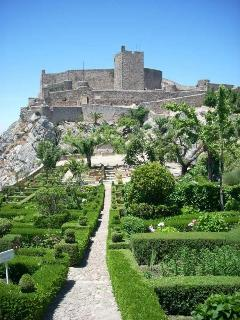 The stunning hilltop village of Marvão with its castle, gardens and panoramic views