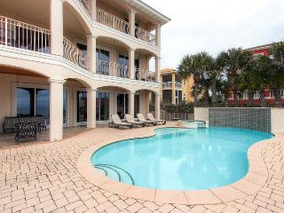 Over The Top: 5 Bdrm, Gulf View, Private Pool, Destin