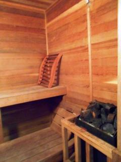 Upper level - Sauna