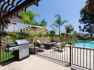 Barbecue Poolside or Relax by the Gas Fire Pit, Double Gated, Child Pool Fencing