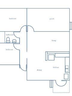 floorplan: compact, comfy, airy.