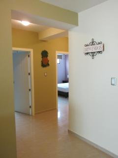 hallway to 2nd and 3rd bedroom