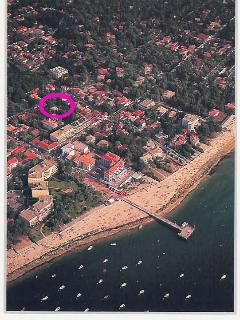 9 p. comfortable villa, beach at walking distance, Arcachon