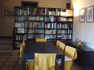 Dining room and library (comics and many others)available