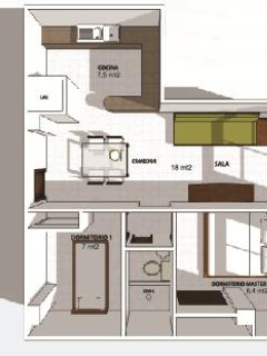 Plans of the apartment
