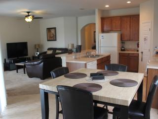 Dining area just off kitchen. Great for entertaining.