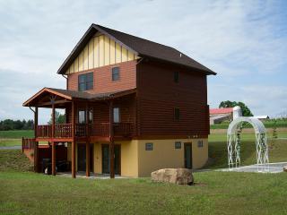Canandaigua Log Home overlooking Seneca Lake