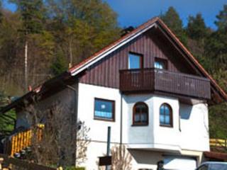Vacation Apartment in Messstetten-Tieringen - 700 sqft, quiet, nice views, central (# 4138), Donaueschingen