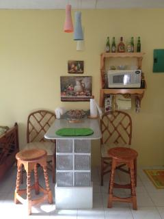 High top bar table for casual dining