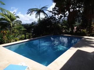 Provencial style villa in Caribbean