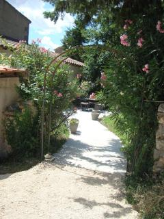 Entry to private garden