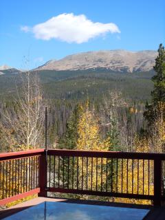 View of Continental Divide