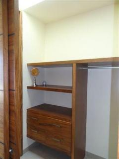 closet of the master bedroom