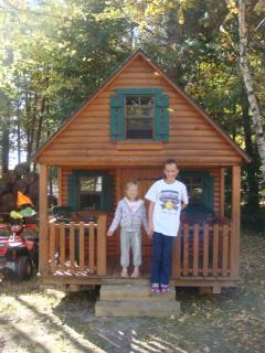 Your kids will love the playhouse 14' X 8'
