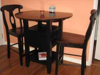Intimate dining for two