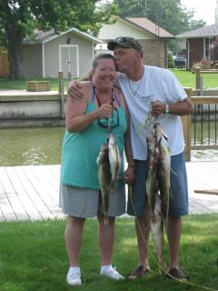 Walleye Fishing - caught their limit!