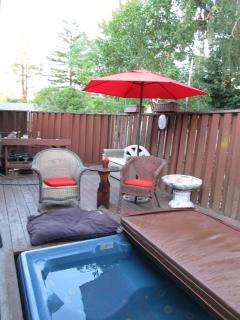 Hottub & Side Deck