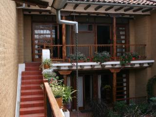 Studio with bedroom loft, historic Cuenca