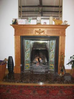 Anitque Fireplace