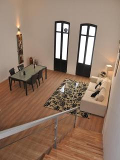 Loft View High Ceilings