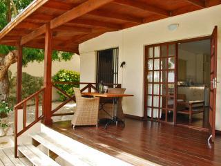 Private porch, apartment 1