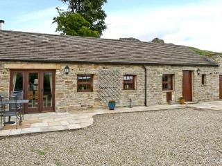 PADLEY BARN, detached stone barn conversion, underfloor heating, woodburner, nea