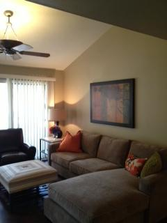 "40"" flat screen TV with cable. Walkout to furnished balcony."