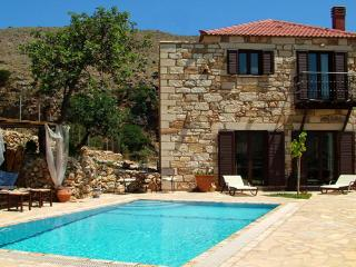 Experience villas Katerina private with sea  views, Chania
