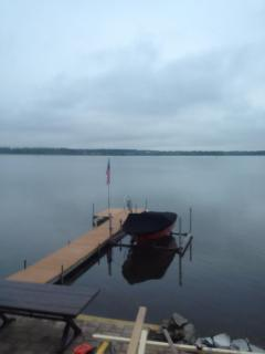 Dock at Wise Owl - bring your boat or rent one