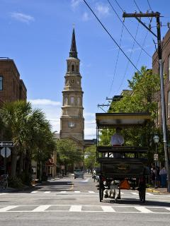 Downtown Charleston has ling been called 'The Holy City' for the many steeples