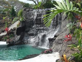 Tropical Paradise Home W Heated Pool, Spa, Falls1B, Holualoa