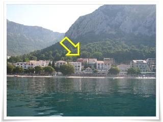 Studio apartment Mirjana, Gradac