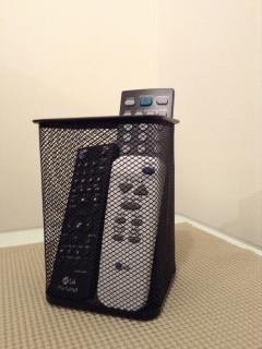 Organized remote control