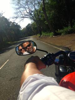 Riding In Guavaberry on Saturday Afternoon.