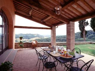 Pleasant Tuscan Apartment on Large Hillside Estate - Il Cortile del Borgo 14, San Gimignano