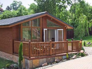 OAK LODGE ground floor, luxury lodge, private terrace in Newent Ref 27868