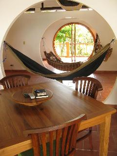 Shorebreak Casa's Hallway! Relax in a hammock and enjoy the view!