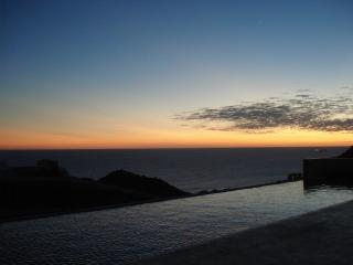 Nothing more relaxing than a sunset in the infinity pool