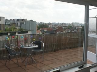 Sunny rooftop apartment in center of Antwerp