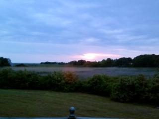 Uitzicht vanaf het dek van het huis naast de deur die je toegang tot appx helft de week.