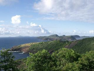 View down the Grenadines