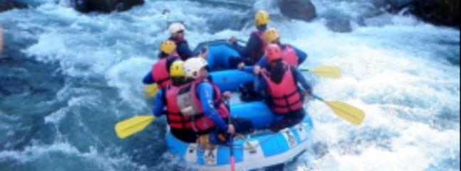 Rafting on the White River