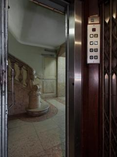 Building's lift, also historical :)