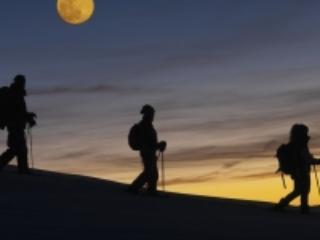 Ciaspolate al chiaro di luna